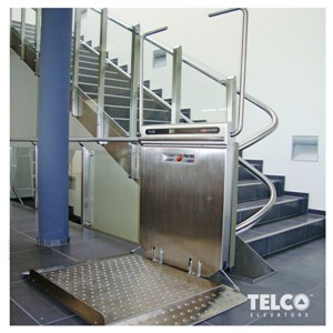 Lifting platform used by TELCO™