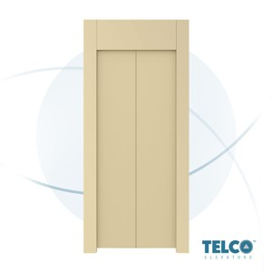 Two-Panel Center Automatic Landing Door by TELCO™