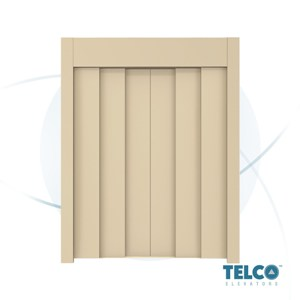 Six-Panel Center Automatic Landing Door by TELCO™