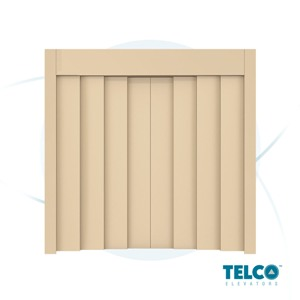 Eight-Panel Center Automatic Landing Door by TELCO™