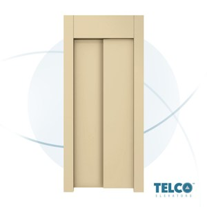 Two-Panel Telescopic Automatic Landing Door by TELCO™
