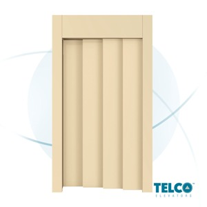Four-Panel  Telescopic Automatic Landing Door by TELCO™