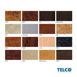 Walls plastic laminates used by TELCO™